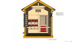 chicken coop floor plan cb202 combo chicken coop plans construction storage shed plans
