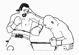 9 boxing coloring pages printable print color craft