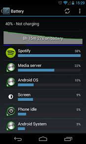 android battery solved spotify for android causing battery drain