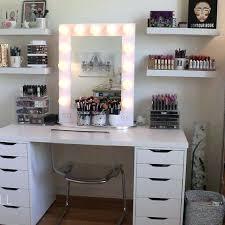 Diy Makeup Vanity With Lights Vanities Makeup Vanity Diy Ikea The Hollywood Vanity Makeup