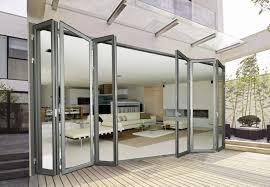 Folding Glass Patio Doors Prices by Door Best Accordion Glass Doors Exterior And Interior Panoramic