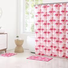 Pink Flamingo Bathroom Accessories by 15 Piece Flamingo Bathroom Set
