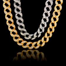 diamonds gold necklace images Frosted billionaire chain necklace onyx bunny jpg