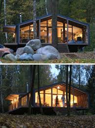 rustic modern this rustic modern house in the forest was designed for a family