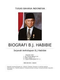 biografi bj habibie english sejarah kehidupan doc