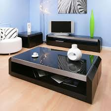 Glass Modern Coffee Table Sets Ideas About Black Glass Coffee Table On Pinterest Center Square