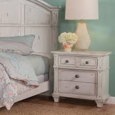 White Pre Assembled Bedroom Furniture Manhattan Comfort Liberty Mid Century White And Aqua Blue Modern