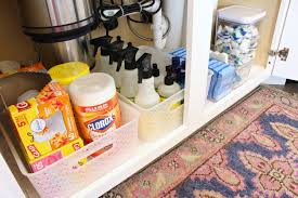 the kitchen sink cabinet organization the sink kitchen cabinet organization ideas