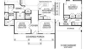 ranch home floor plans with walkout basement home design ideas