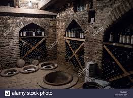 kvevri vessels in wine cellar of pheasant u0027s tears small local