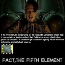 Fifth Element Meme - in the 5th element the bad guy zorg and the hero corbin dallas never