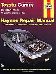 1993 toyota camry repair manual toyota camry 1983 96 repair manual chilton s total car care