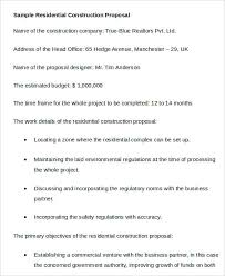 construction business proposal templates 10 free word pdf