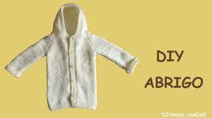 sueter tejido a dos agujas youtube abrigo con capucha tejido a dos agujas en punto para niño 1 de 2