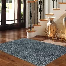 Plastic Carpet Runner Walmart by Mohawk Home Eyelash Blue Shag Rug Multiple Sizes Walmart Com