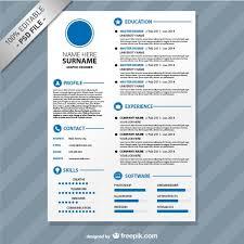 editable resume templates pdf editable cv format download psd file free download