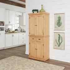Solid Wood Kitchen Pantry Cabinet Solid Wood Storage Cabinets Ebay
