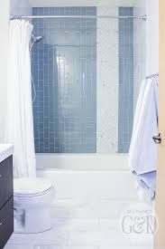 glass tile for bathrooms ideas marble and glass tile bathroom makeover all things g d