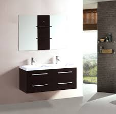 48 Inch Double Bathroom Vanity by Inch Wall Floating Bathroom Vanity Double Espresso Cabinet