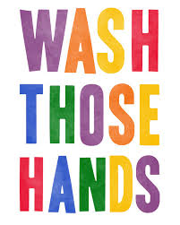 wash those hands art print cute wash your hands reminder art for