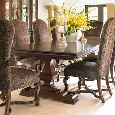 Double Pedestal Dining Room Tables Have To Have It Stanley Furniture Montecito Grande Balustrade