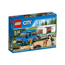 camper van lego lego city van u0026 caravan 60117 big w