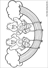 care bears coloring print button browser