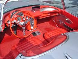 59 corvette convertible corvette convertible interior view