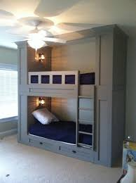 Built In Bunk Beds Would Change The Bottom To A Full Size Bed - Full sized bunk beds