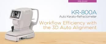 auto kerato refractometer kr 800a eye care topcon