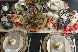 thanksgiving tablescape ideas clean and scentsible