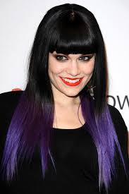 how to achieve dark roots hair style black roots with dark purple ends thinking about doing this