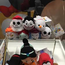 upcoming tsum tsum merchandise on display at sdcc