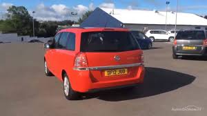 vauxhall lookers vauxhall zafira exclusiv red 2012 youtube