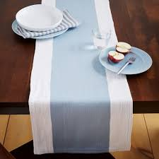 blue and white table runner pantone s 2016 color of the year rose quartz and serenity dining
