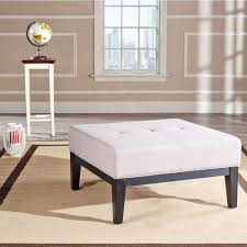 ottoman storage extra large square cocktail ottoman storage extra large leather shelf bench