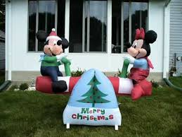 shopchristmasinflatables disney seesaw