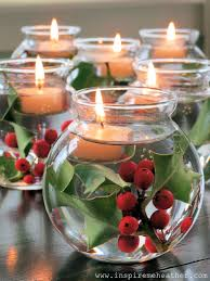Holiday Table Decorations by 40 Easy Homemade Christmas Decoration Ideas All About Christmas