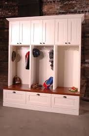 Ikea Entryway Bench Furniture White Wooden Mudroom Lockers Ikea With Cushion Bench