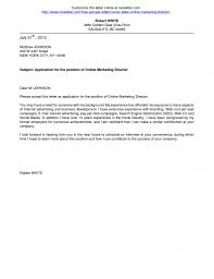 cover letter how to write letter exles for a of