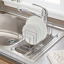 dish drainer for small side of sink small side sink dish drainer sink ideas