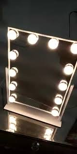hollywood mirror with light bulbs hollywood style makeup vanity mirror with light dimmable lighted