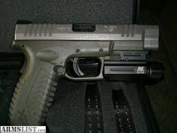 springfield xd tactical light cabela s 700 lumen flashlight tk51 tactical light for xdm 9mm
