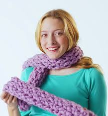 zippy simple scarf free pattern make it in 15 minutes zippy