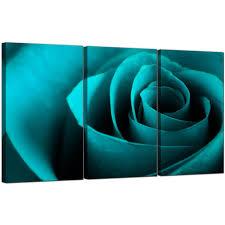 Living Room Art Sets Rose Canvas Art Set Of 3 For Your Living Room