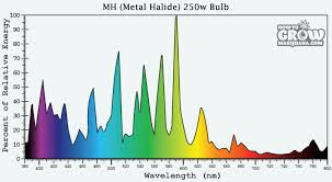 metal halide light color hps grow lights