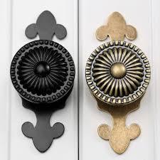 Antique Brass Kitchen Cabinet Hardware Online Get Cheap Kitchen Cabinets Knobs Aliexpress Com Alibaba