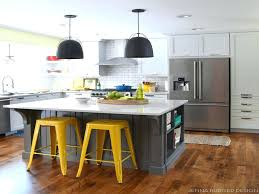 Shaped Kitchen Islands U Shaped Kitchen Vs Island Room L With And Also Size Of