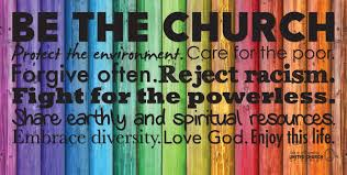 be the church rainbow banner horizontal ucc resources