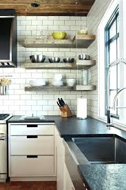 kitchen shelves design ideas open kitchen shelves design decorating playableartdc co